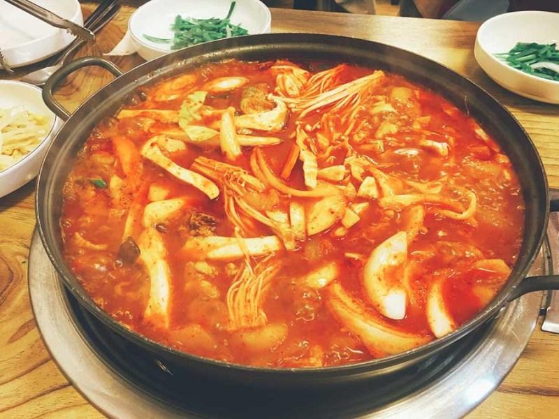 ragout de kimchi
