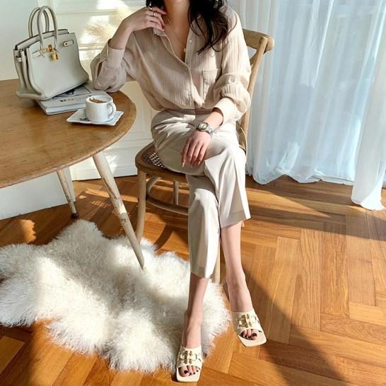 mode coréenne chaussures