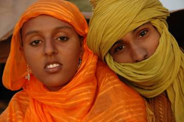 les habitants du sahara