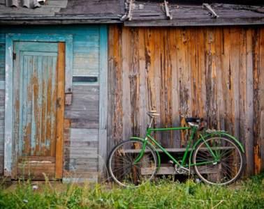La maison et le vélo, prêt à partir !