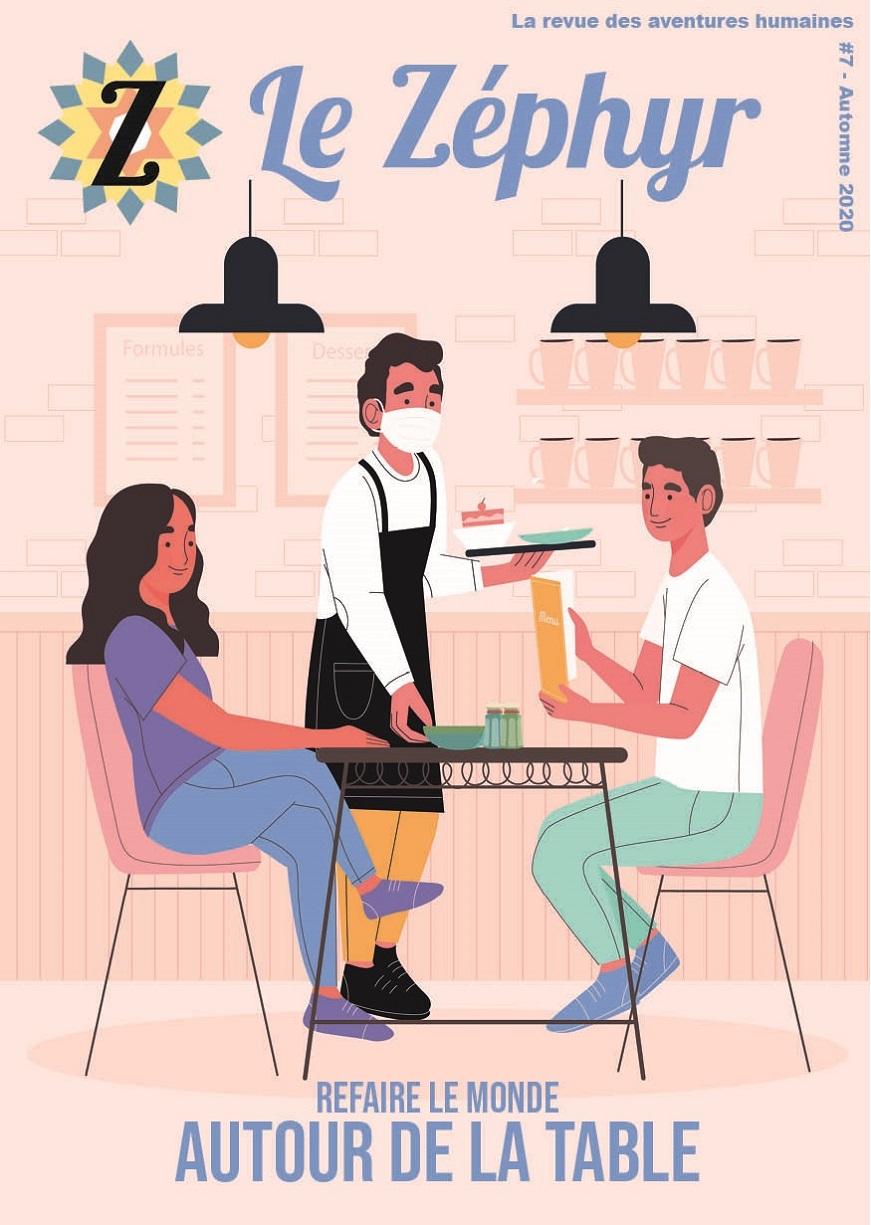 revue du Zéphyr sur la cuisine