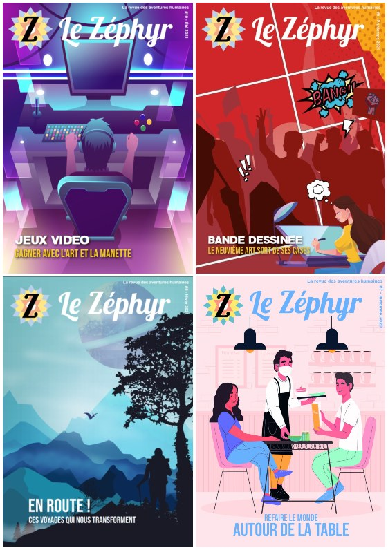 couverture de la revue du Zéphyr