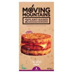 Moving Mountains Sausage Burgers
