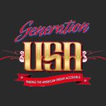 Logo Génération USA noir