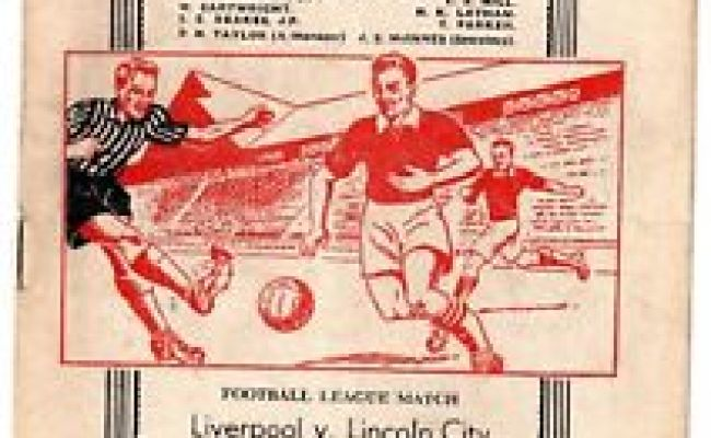 Matchdetails From Liverpool Lincoln City Played On Saturday 17 November 1956 Lfchistory