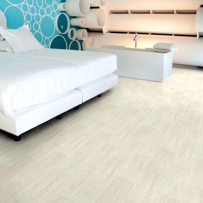 aqua step travertine white mini tile v4 waterproof laminate flooring