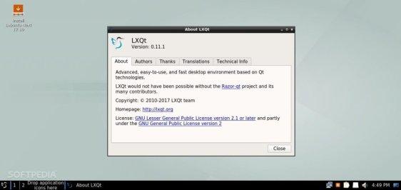 luibuntu lxqt alpha 1