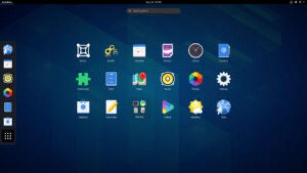 gnome app grid