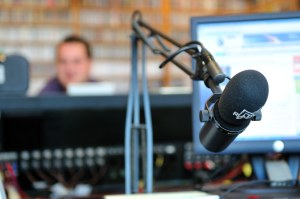 radio station microphone
