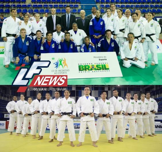 LF News Portal Notícias Lauro de Freitas Judocas recebem kimono oficial para os Jogos Olímpicos 2