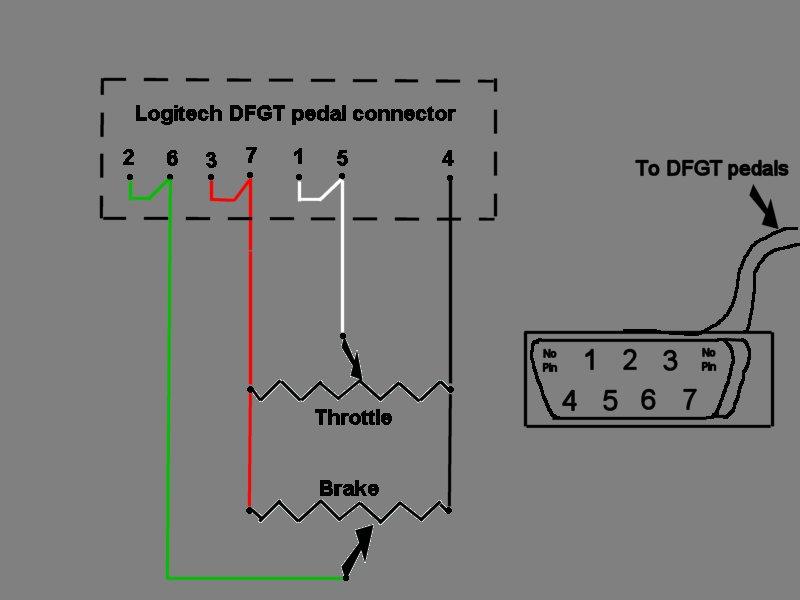 Logitech Pedal Wiring Diagram HP Wiring Diagram Wiring