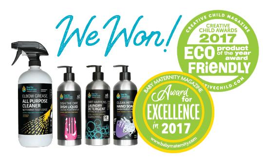 LFT Won Eco Friendly Product of the Year Award 2017