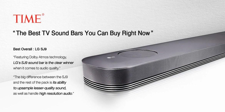 LG Multi-Dimensional SJ9 Surround Sound Bar