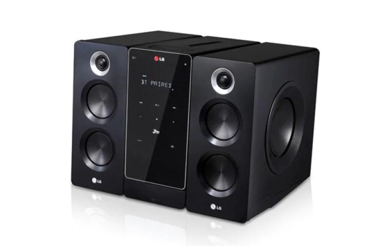LG CM2640 DVD Micro HiFi System  LG Electronics Africa