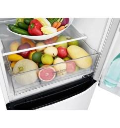 lg 24 counter depth bottom freezer refrigerator with smart inverter 12 cu ft lg canada [ 1600 x 940 Pixel ]