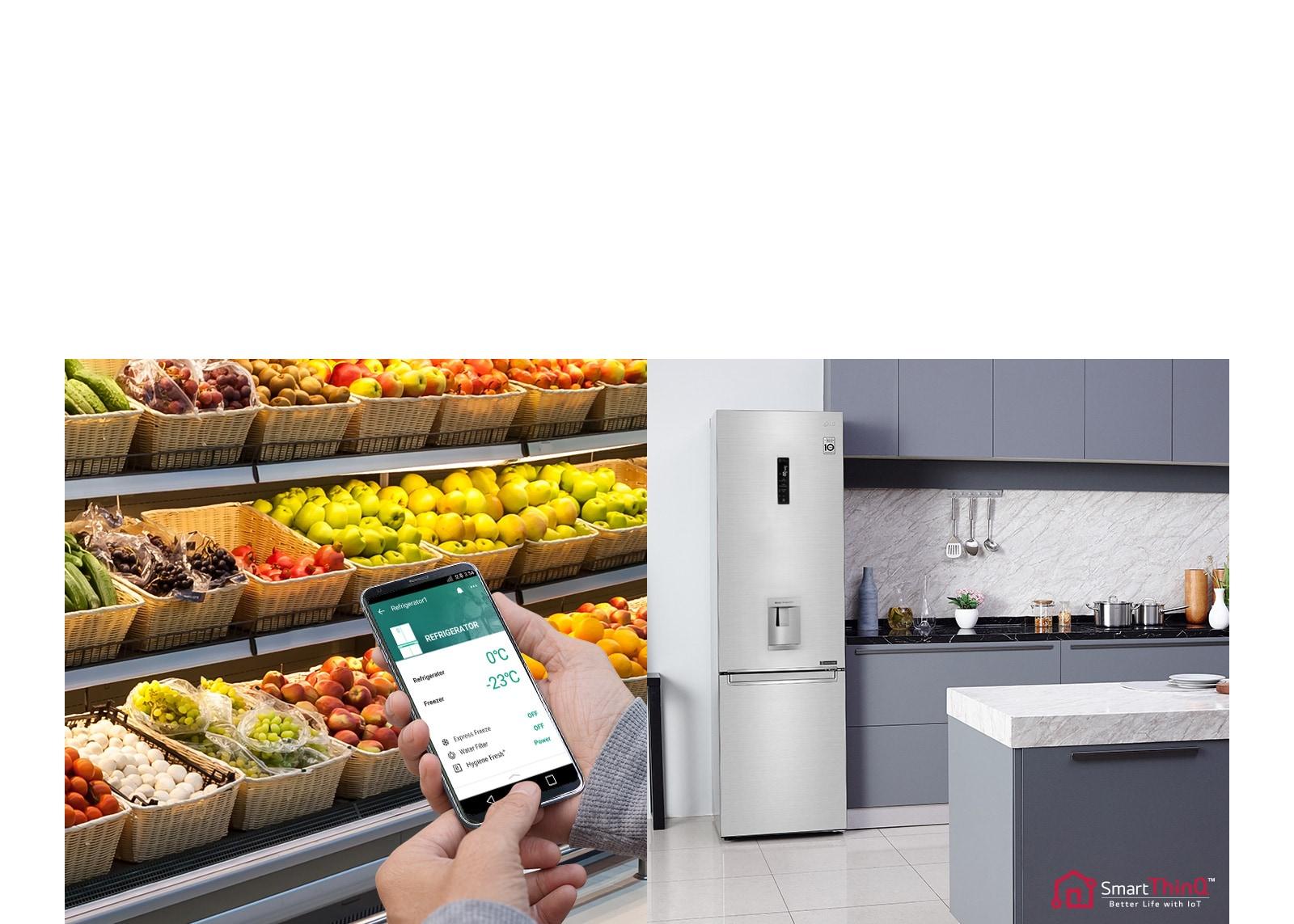 La manera inteligente de controlar su refrigerador3