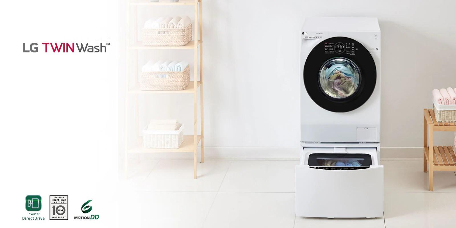 Waschmaschine Mit Zwei Trommeln | Twinwash™ | Lg