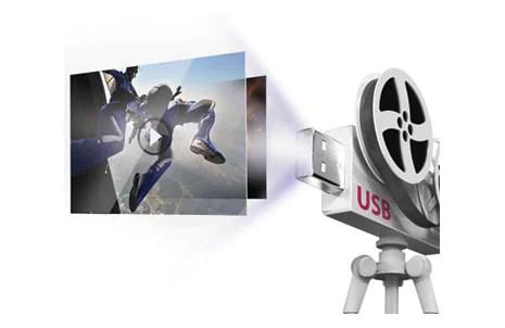 USB Movie Playback