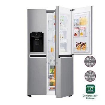 Refrigerateurs Americains Electromenager Lg Lg France