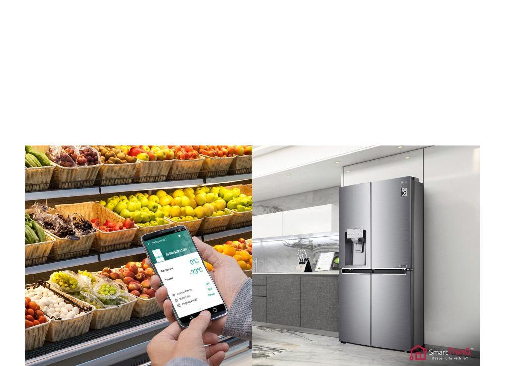 Adjust your refrigerator remotely1