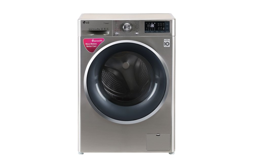 medium resolution of 8 0 kg washing machine with steam turbowash technology front load washing machine