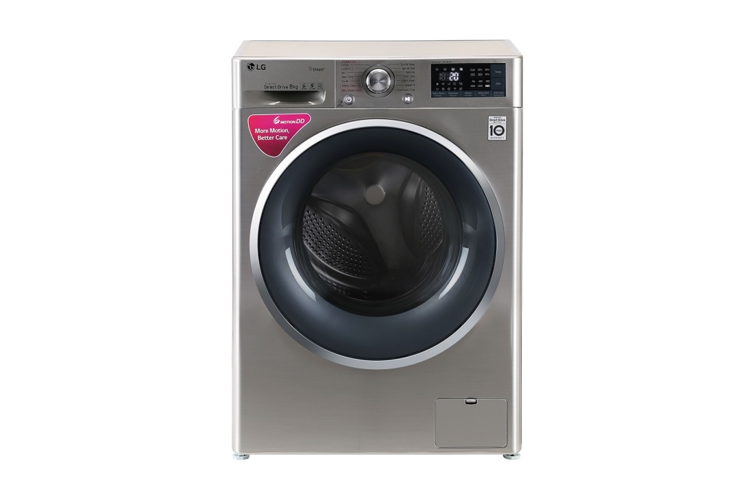 hight resolution of 8 0 kg washing machine with steam turbowash technology front load washing machine