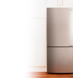 bottom mount freezer [ 1600 x 800 Pixel ]