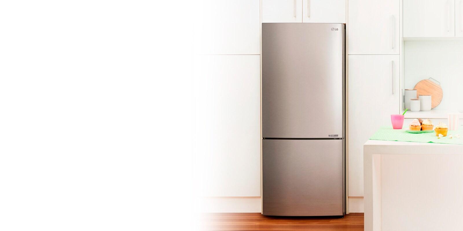 hight resolution of bottom mount freezer