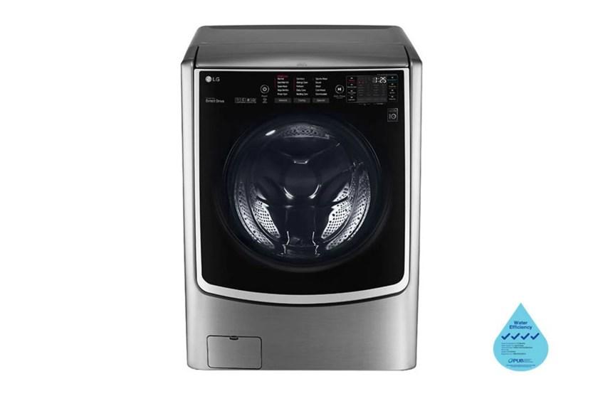 LG 21/12kg, Front Load Smart Washing Machine with 6 Motion Inverter Direct Drive, F2721HTWV