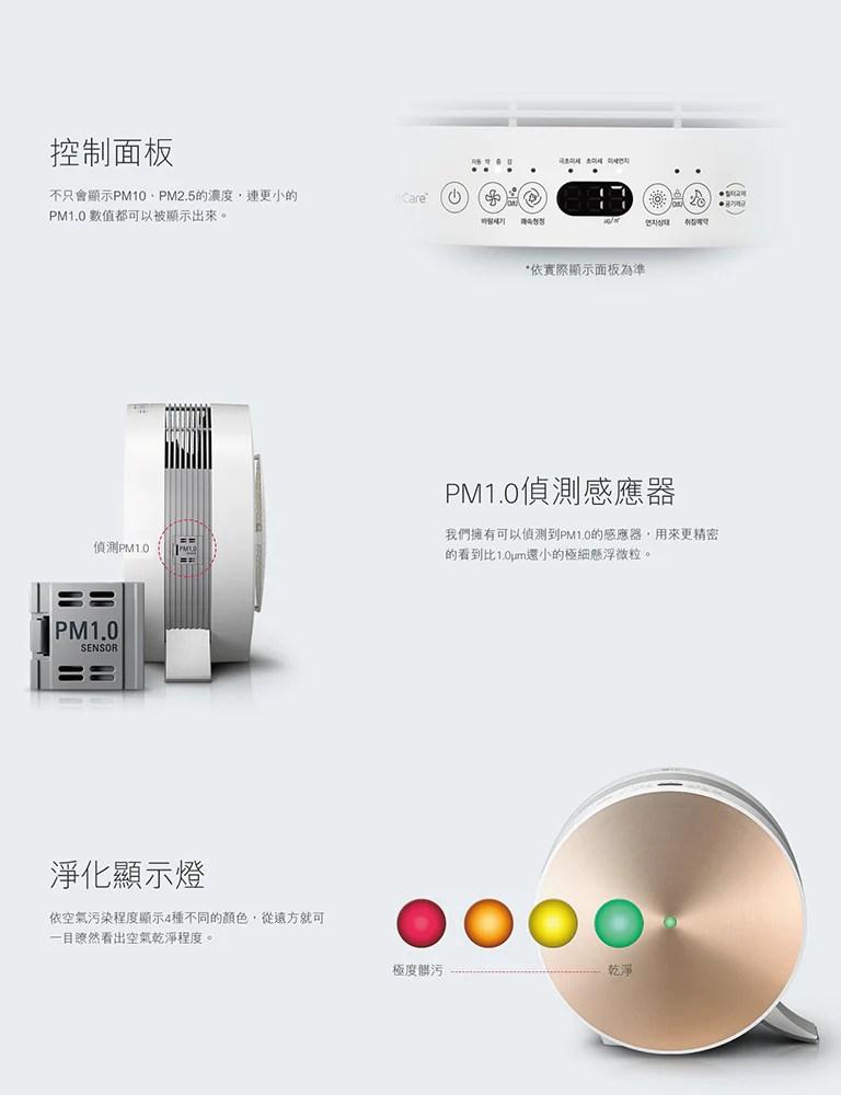 空氣清淨機 (大龍捲蝸牛)│LG 臺灣