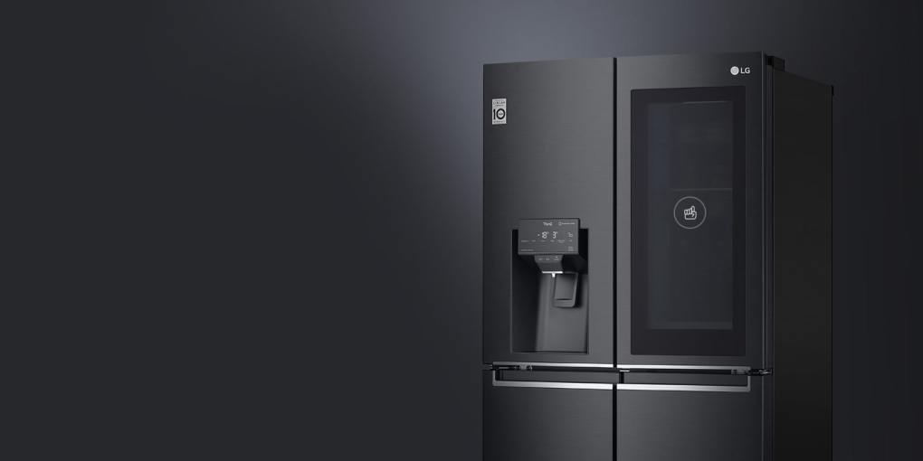 Knock twice to see what's inside without opening the door, save your cold air loss and find your favorites fast.