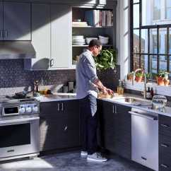 Lg Kitchen Suite Design Maker Signature At Milan Week Brand Story Magazine An Image Of With Dual Fuel Pro Range Dishwasher And