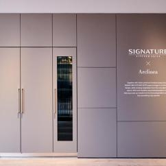 Lg Kitchen Suite Vintage Chairs Ifa 2018 Luxury Signature Launches In Europe The Simmolier At Exhibition For