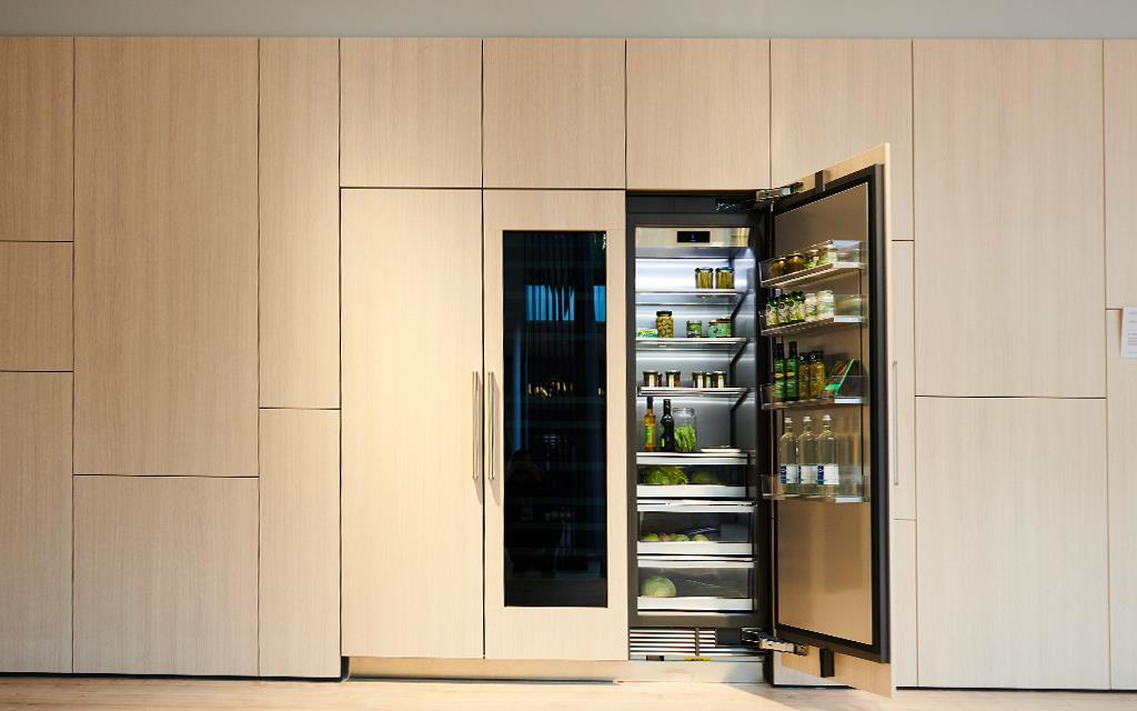 lg kitchen suite play wood ifa 2018 luxury signature launches in europe a refrigerator and wine cellar combination at the exhibition for