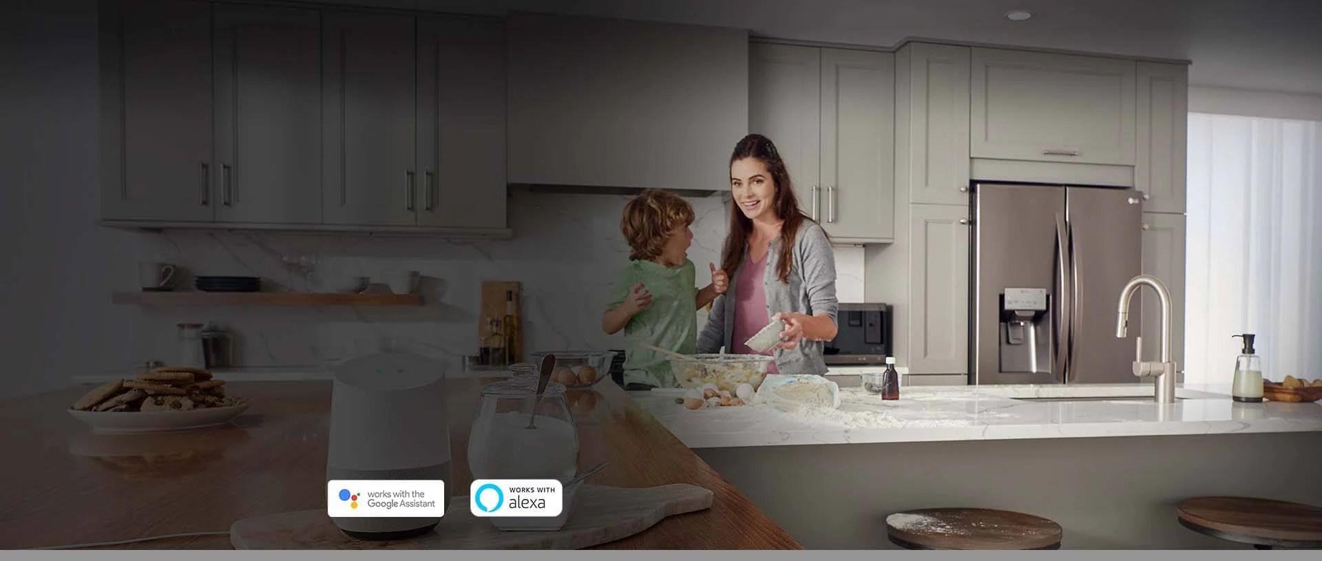 kitchen dishwashers under cabinet lighting lg smartthinq smart refrigerators ranges your next meal just got a little smarter