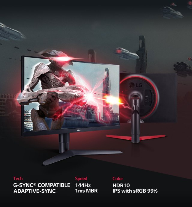 27 Inch UltraGear Gaming Monitor1