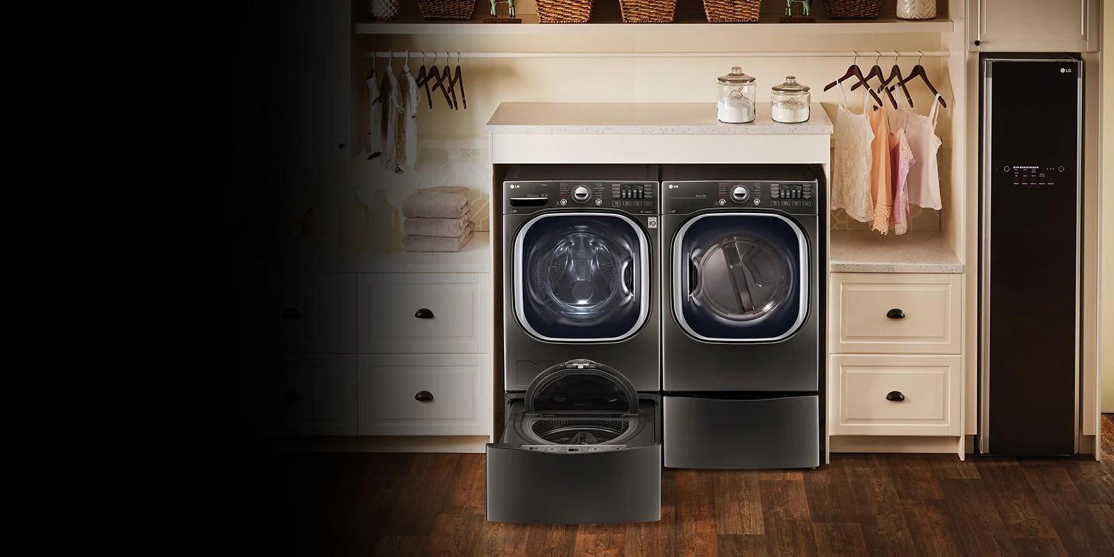 Stackable Washer Dryer Pedestal