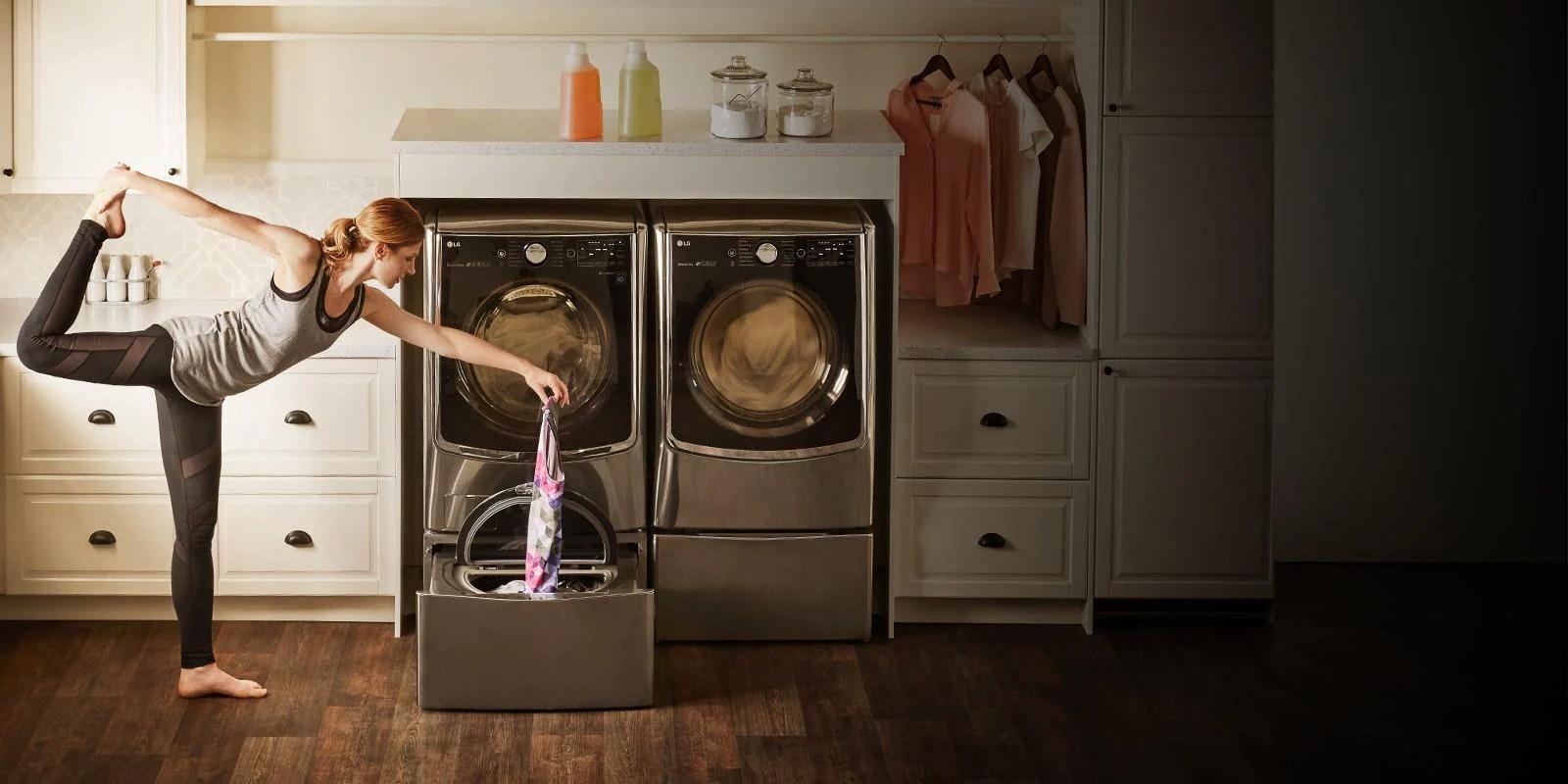 Lg Laundry Pedestal Make Laundry Easier