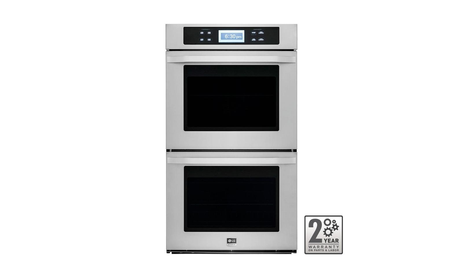 lg kitchen appliances brick outdoor lswd305st studio 30 inch built in double wall oven