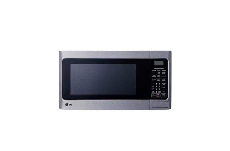 1 1 cu ft countertop microwave oven with easyclean