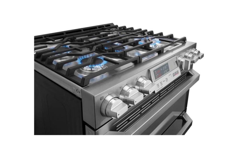 medium resolution of lg cooking appliances lutd4919sn lg signature 7 3 cu ft smart wi fi enabled