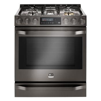 stove kitchen pendant lights above island lg ranges ovens cook with precision usa studio 6 3 cu ft smart wi fi enabled gas slide in