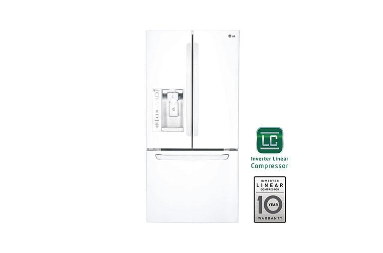 LG LFXS24623W: Ultra Capacity 3-Door French Door