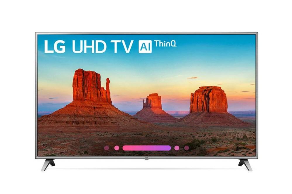 medium resolution of  model uk6570aua 4k hdr smart led uhd tv w ai thinq
