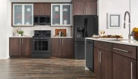 Pictures Of Kitchens With Dark Cabinets And Black ...