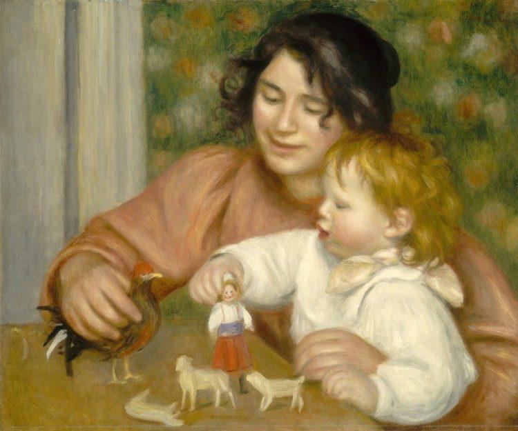 fragile blog (Renoir painting)