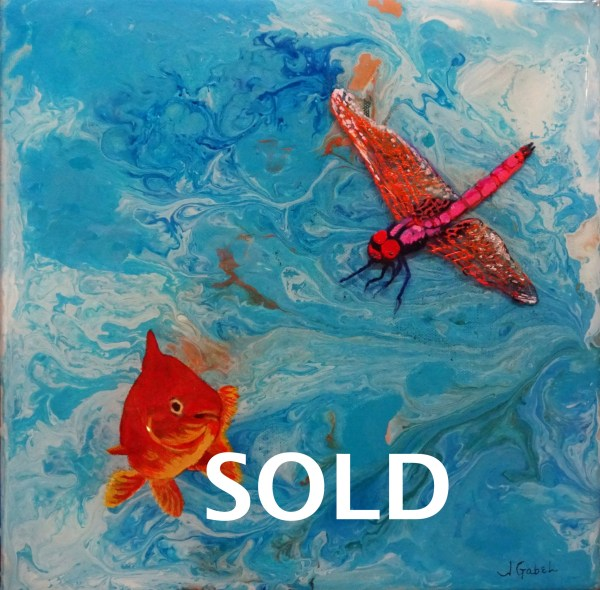 fishing around - sold