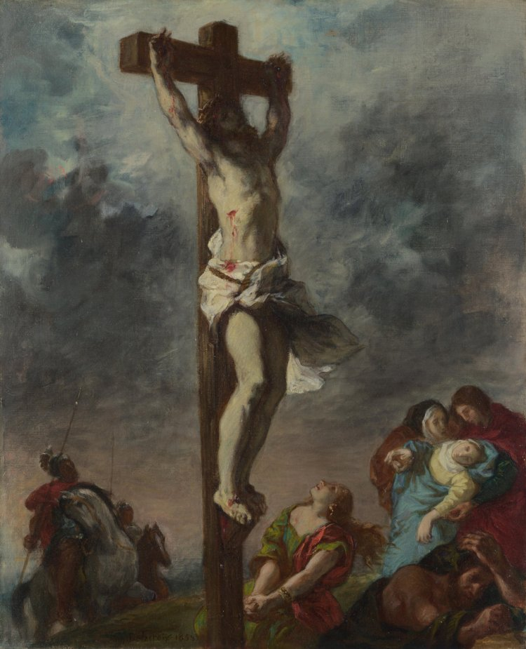 Do you have a vision problem? Christ on the Cross, 1853. Artist: Delacroix, Eugène (1798-1863) Found in the collection of the National Gallery, London. (Photo by Fine Art Images/Heritage Images/Getty Images)