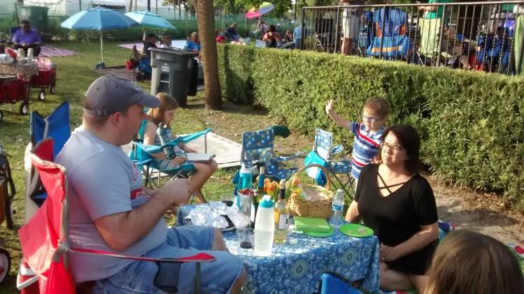 Winter Park Art Festival picnic