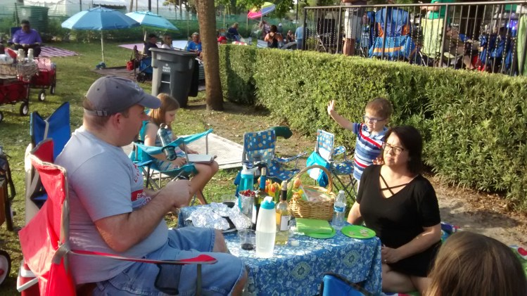 Winter Park Art Festival picnic
